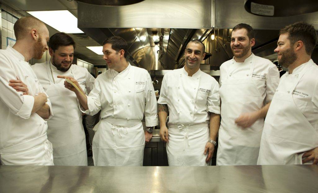 The team of chefs at Gramercy Tavern.